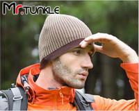Wholesale New Winter Men s Outdoor Sports Warm Jacket Knitted Hat Headgear
