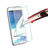 Wholesale For iPhone6 Plus S s Tempered Glass Screen Protector film MM H D Explosion Proof Shatterproof samsung Galaxy Note4 S4 s3
