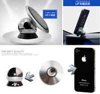 Wholesale UF V car magnetic bracket a bag Magnet sucker Automotive Universal magnetic stand Lazy phone holder