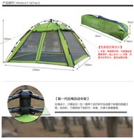 Wholesale 2015 spring of the new people single layer automatic tents outdoor camping tent single layer amping gear