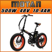 folding electric bicycle - US IN STOCK Addmotor MOTAN M Sport Orange FOLDING Fat Tire E Bike Matte Black Shimano W V AH quot SUMSUNG Electric Bicycle