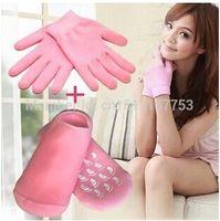 Wholesale Hot Sale pairs pair of glove pair of socks Whiten Skin Moisturizing Treatment Gel SPA Glove and Sock