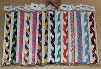 fabric pieces - piece Sports Braided Elastic Headbands for Girls Softball