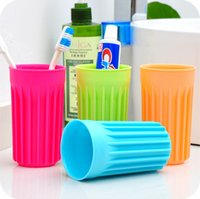 Wholesale Travel portable anti bacterial toothbrush creative home storage box Thickened scald proof heat insulation Cup WC14