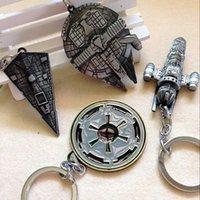 babies key chains - 2015 New Design Children Star Wars Key buckle star trek Airship Accessories baby Key chains pendant