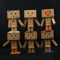 amazon goods - Revoltech Danbo Mini Danboard Amazon Box Japan Kaiyodo Action Figure Toy Doll set