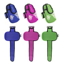 Wholesale Multicolor Bags Cycling Sports Running Gym Wrist Pouch phone Arm Key Bag Wallet Fashion Hot Selling