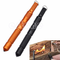 Wholesale Hot Sale New Outdoor CNC Magnesium Bar Flint Fire Starter Waterproof Survival Camp Kit