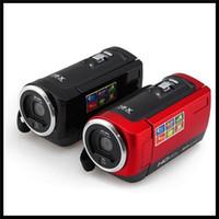 digital flash - New Original HD P MP Digital Video camera quot LCD Screen Lithium Battery maquina fotografica digital profissional camera DV C6 Free