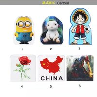 Wholesale Cute Cartoons Mini Universal Sticker For Mobile Phone Cell Phone Folding Mount Holders Stand Hot Sale