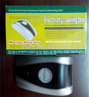 Wholesale DHL Freeshipping Household type Power Saver with KW Useful Load Single Phase KW Power Saver with UK EU USA AU socket