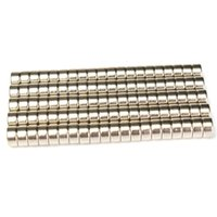 Wholesale 100pcs N52 Super Strong Disc Cylinder mm x mm Rare Earth Neodymium Magnets