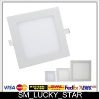 led panel light - X10 CREE Led Panel Lights W W W W W Round Square V Warm Cool White Indoor Ceiling Lamps Lighting Cozy Downlights