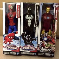 Wholesale 2015 The Avengers action figure Marvel spiderman iron man caption america darth vader green goblin kids toys dolls G190