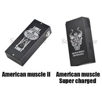 american muscle - American Muscle ii w with American muscle super charged w Support ohm box mod VS Sigelei w tc IPV4S fit TFV4