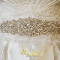 rhinestone wedding belt - 2015 Crystal Wedding Dress Sash Bridal Sash Rhinestone Wedding Belt Beaded Wedding Belt Bridal Accessories XNYD017