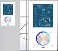 Wholesale Two function Brass digital display thermostated mixer