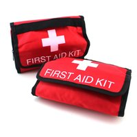 first aid kit - Large Size Travel First Aid Kit Camping Medical Emergency First Aid Kit Survival Bag Treatment Pack Set Home Wilderness Survival