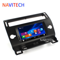 Wholesale autoradio CITROEN C4 CAR DVD player GPS Navigation BLUETOOTH AUTO RADIO IPOD RDS SWC
