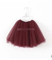 Wholesale 2014 new girls lace tutu skirts Children babys kids new spring summer lace princess party skirts beige navy wine red A5019