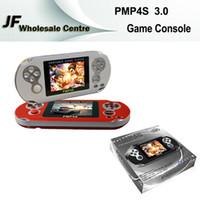 PMP4S 64 Bit Écran de 2,6 pouces 2 Go Console de jeu portable Lecteur de jeu portable Vidéo TV HD Vidéo MP4 MP5 Support Carte TF FC GBA Jeux gratuits