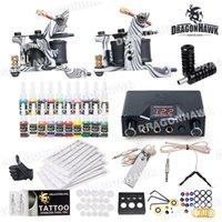 Cheap 2 Guns Beginner Tattoo Kits Best Professional Kit Professional tattoo kits tattoo kits