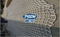Wholesale Customized MM Rope Diameter Outdoor Sports Climbing Guard Net Playground Nylon Safety Net Stairs Fence Protecting Net