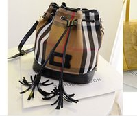 Wholesale Drawstring Tassels New handbags women bags handbags designer handbags purses Genuine leather tote bag