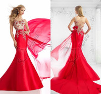Cheap Sexy 2015 Special Occasion Mermaid Floor Length Model Picture 2015 Party Evening Formal Red Carpet Women Gowns Dress