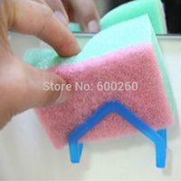 Wholesale Hot sales dish cloths rack suction sponge holder clip rag Storage Rack