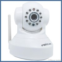 Wholesale Newest Foscam FI8918W Wireless Wired Pan Tilt IP Network Camera with Meter Night Vision and mm Lens
