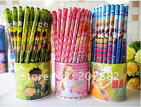 Wholesale Free Shiping Fashion Ben Pencil Wooden Pencil Set Stationery Set set A0450 on Sale