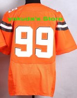 throwback football jersey - 2015 Player Orange Elite Throwback Stitched Jersey Discount Cheap Customized White Brown Football Jerseys Various Fashion jerseys