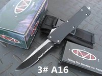 Wholesale HIght Recommend microtech A16 a16 models optional Hunting Folding Pocket Knife Survival Knife Xmas gift for men copies freeshipping