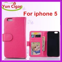 Cheap iphone 5 wallet flip case Best iphone 5s photoframe case