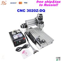 auto screwing machine - Ship to Russia free TAX CNC Engraving Machine Z DQ With Ball Screw Tool Auto checking Instrumen desktop milling machine