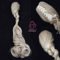 Wholesale Hot Sale Mix Style Long Curly Clip In Ponytail