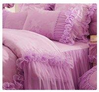Cheap bed skirts Best cotton wedding