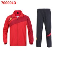Wholesale New Lin Dan Badminton Set Jacket Pants Lin Dan Badminton Sportswear LD LD