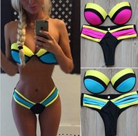 Wholesale 2016 Newest woman Multi rope Bikinis swimsuit sexy Joining together swimsuit Low Waist close fitting High elastic Bikinis