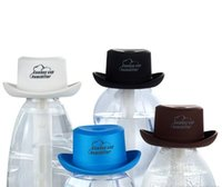Wholesale Mini Water Bottle USB Humidifier Air Diffuser Mist Maker Cowboy Cap Shape Ultrasonic Humidifier Household