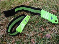 best leg strap - pieces New Bike Cycling Bicycle Reflective Safety Pant Band Leg Strap Belt Best Quality
