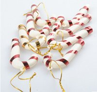 Wholesale Christmas Decoration Gifts Candy Cane Small Cane Party Festival Christmas Tree Ornaments Xmas M1807
