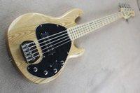 bass humbucker - Music Man Sub Ray5 Ash Body Bass Electric Guitars Active Humbucker China guitarras musical instruments