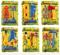 Wholesale Cartoon Tool toy set cm Boy DIY play house Simulation tool Kit Send at random toy