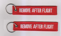 Wholesale REMOVE AFTER FLIGHT Pilot Keychain Keyring Key tag Keychains