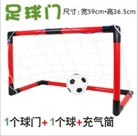 Wholesale 59x36 x29cm Plastic Football Door Assembly By Yourself Best Sport Toy Gift for Children