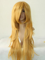 adorn wave - cos panty angel cosplay golden yellow Christmas Day adorn wigs