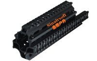 saiga - UTG MNT HGSG39 SAIGA RIFLE QUAD RAIL FOR X39 With Covers