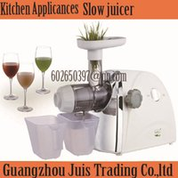 apple juice - Automatic Orange apple vegetable Fruit press machine wheatgrass juice extractor maker blender friut citrus electic slow juicer A3